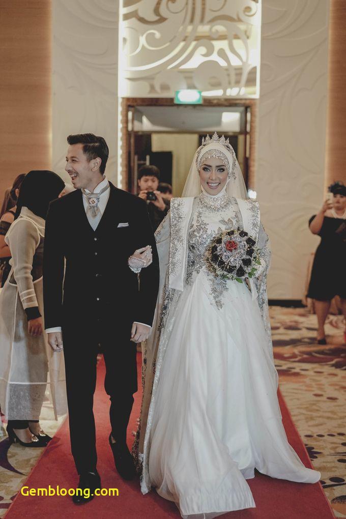 Gaun Pengantin Hijab Minimalis Fresh 5 Gaun Pengantin Muslimah Modern & Simple Ala Selebriti