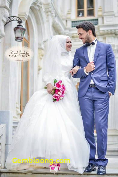 Gaun Pengantin Hijab Minimalis Luxury 60 Gaun Pengantin Muslimah Edisi Terbaru 2019