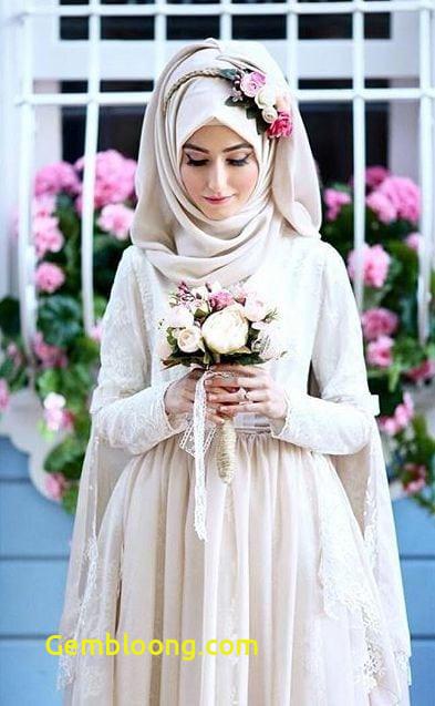 Gaun Pengantin Hijab Minimalis Unique 59 Desain Gaun Pengantin Muslim Modern Terbaru Dan