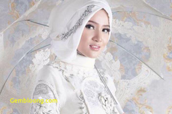 Gaun Pengantin Hijab Minimalis Unique Inspirasi Gaun Pengantin Hijab Memukau Di Momen Bahagia Ala