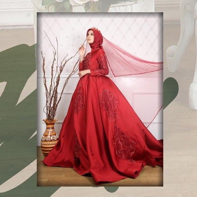 Gaun Pengantin Muslim Simple Elegan Beautiful Sewagaunakad Instagram Posts Photos and Videos Instazu