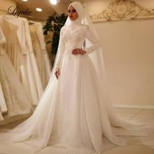 Gaun Pengantin Muslim Simple Elegan Luxury Popular Elegant Muslim Wedding Dress Buy Cheap Elegant