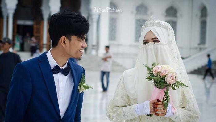 Gaun Pengantin Muslimah Bercadar Awesome Fenomena Baru Banyak Hijabers Yang Ingin Menikah Pakai