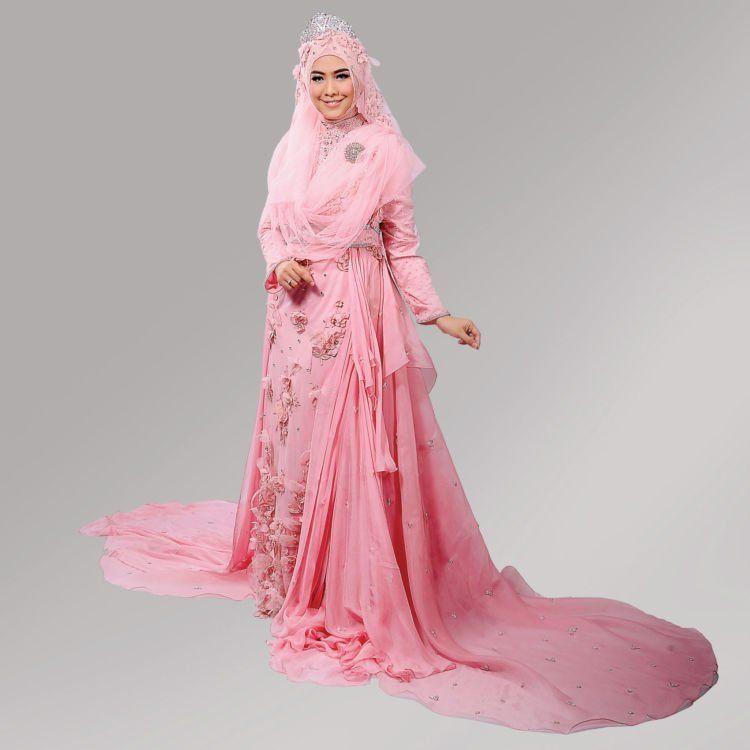 Gaun Pengantin Muslimah Bercadar Luxury 15 Inspirasi Gaun Pernikahan Syar I Ini Bisa Dicontek Demi