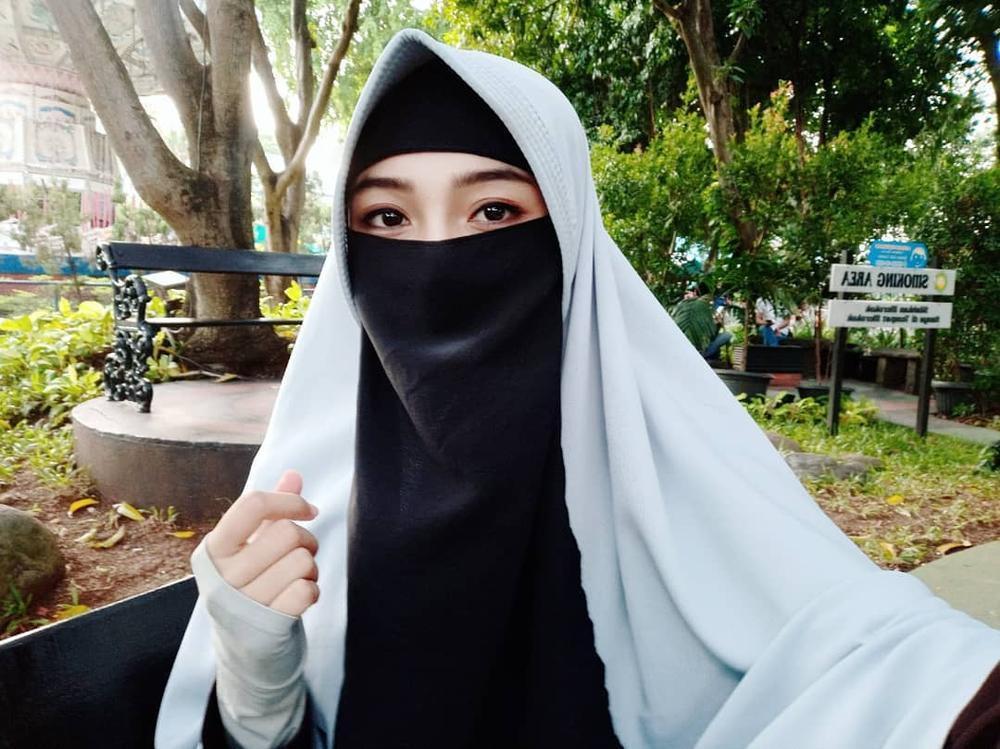 Gaun Pengantin Muslimah Bercadar Luxury Tutorial Riasan Mata Korea Untuk Muslimah Bercadar