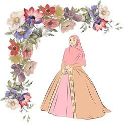 Gaun Pengantin Muslimah Bercadar New Inspirasi Gaun Pengantin Muslimah Wedding Syari