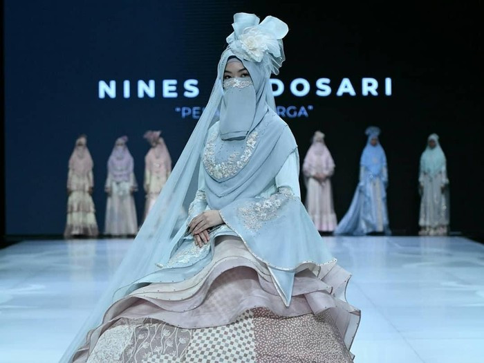 Gaun Pengantin Muslimah Bercadar Unique Desainer Bandung Rilis Baju Pengantin Bercadar Dijual Rp 20
