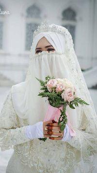 Gaun Pengantin Muslimah Bercadar Unique Fenomena Baru Banyak Hijabers Yang Ingin Menikah Pakai