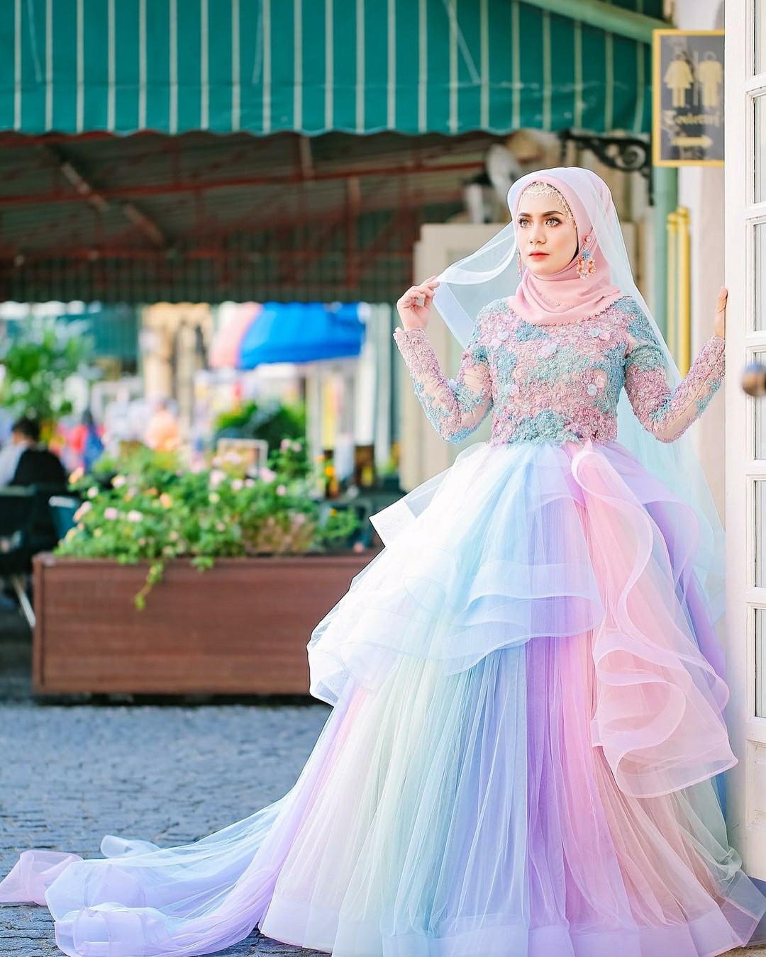 Gaun Pengantin Muslimah Best Of 34 Inspirasi Terpopuler Gaun Pengantin Malaysia