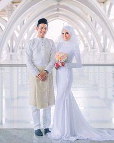 Gaun Pengantin Muslimah Mewah Elegant 144 Best Baju Nikah Putih Images In 2019