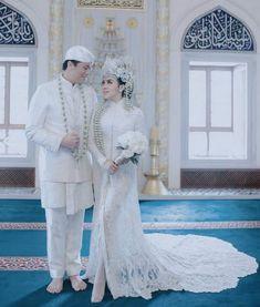 Gaun Pengantin Muslimah Mewah Fresh 144 Best Baju Nikah Putih Images In 2019