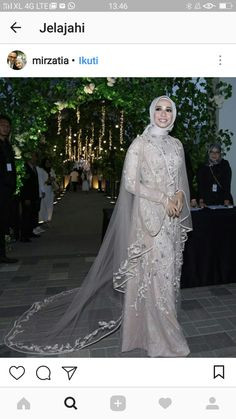 Gaun Pengantin Muslimah Mewah Lovely 80 Best Gaun Pengantin Images In 2019