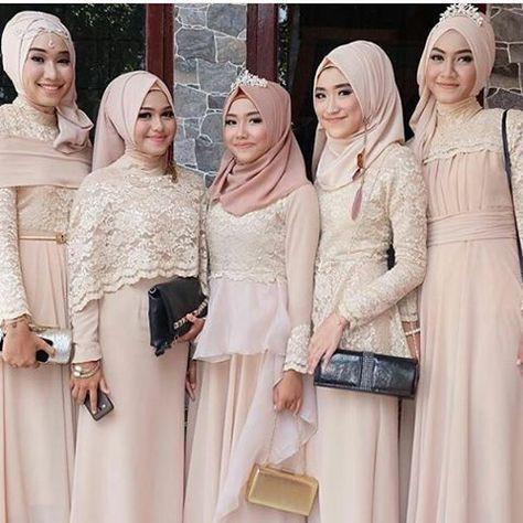 Gaun Pengantin Muslimah Modern 2018 Awesome List Of Gaun Kebaya Muslim Modern Pictures and Gaun Kebaya