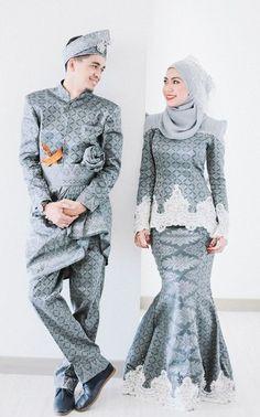 Gaun Pengantin Muslimah Modern 2018 Beautiful 29 Best songket Lelaki Images