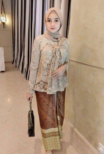 Gaun Pengantin Muslimah Modern 2018 Beautiful List Of Gaun Kebaya Muslim Modern Pictures and Gaun Kebaya