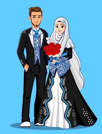Gaun Pengantin Muslimah Modern 2018 Unique 108 823 Muslim Cliparts Stock Vector and Royalty Free