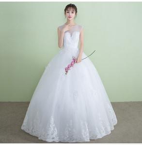 Gaun Pengantin Muslimah Modern 2019 Elegant China Vietnam Wedding Dress China Vietnam Wedding Dress