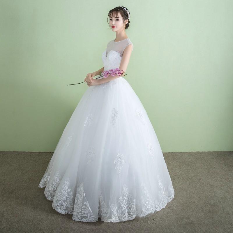 Gaun Pengantin Muslimah Modern 2019 New China Vietnam Wedding Dress China Vietnam Wedding Dress