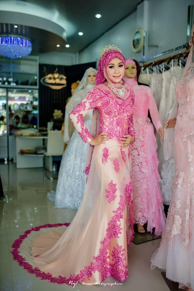 Gaun Pengantin Muslimah Modern Beautiful Melody