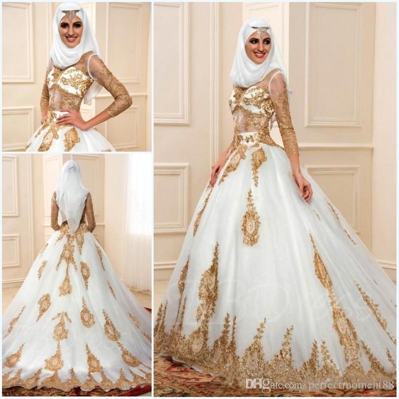 Gaun Pengantin Muslimah Modern Elegan Fresh Muslim Marriage Wedding Dress for Women – Fashion Dresses