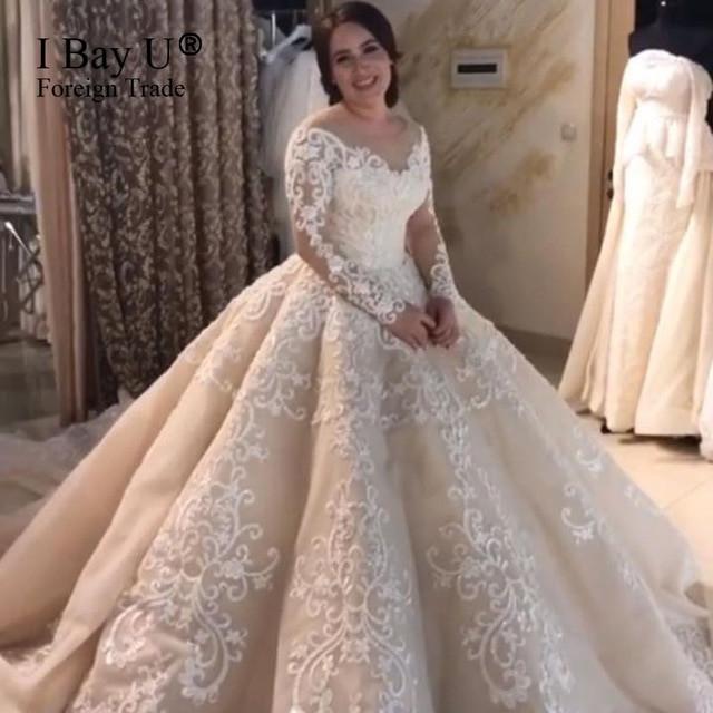 Gaun Pengantin Muslimah Modern Elegan New Muslim Marriage Wedding Dress for Women – Fashion Dresses