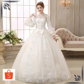 Gaun Pengantin Muslimah Modern Lovely Grosir Sy Gaun Pengantin Import Wedding Dress Lengan Panjang Modern Muslimah Keren