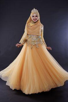 Gaun Pengantin Muslimah Modern Warna Gold Beautiful 26 Best Bridal Images In 2018