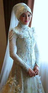 Gaun Pengantin Muslimah Modern Warna Pink Beautiful 9 Best Gaun Pengantin Model Kebaya Images In 2016