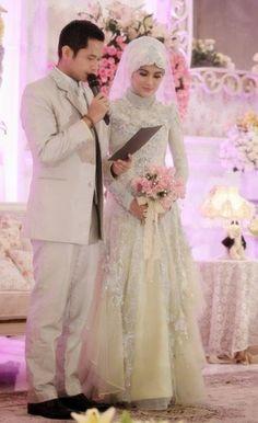 Gaun Pengantin Muslimah Modern Warna Pink Luxury 12 Best Gaun Images