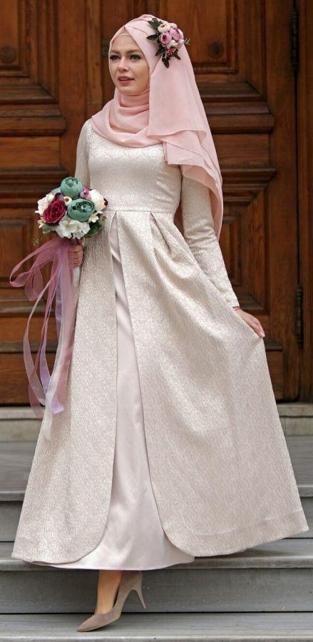 Gaun Pengantin Muslimah Modern Warna Putih Beautiful 15 Variasi Gaun Pengantin Internasional Hijab Yang sopan