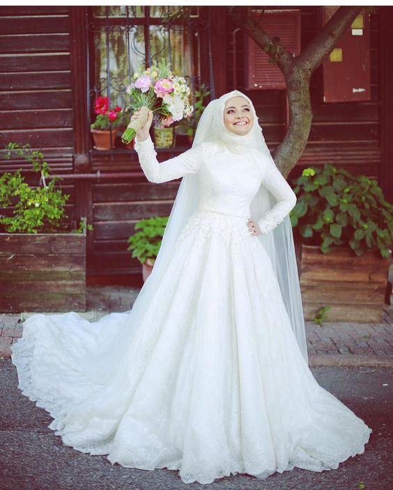 Gaun Pengantin Muslimah Modern Warna Putih Best Of 59 Desain Gaun Pengantin Muslim Modern Terbaru Dan