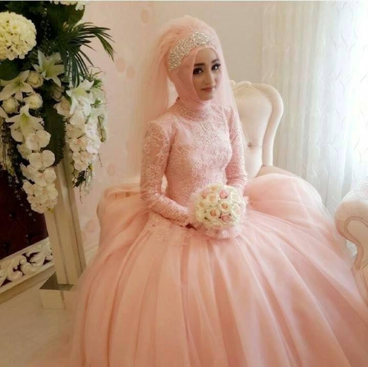 Gaun Pengantin Muslimah Modern Warna Putih Best Of Desain Gaun Pengantin Terbaik Ragam Fashion