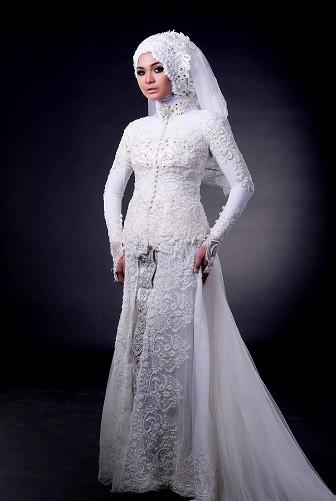 Gaun Pengantin Muslimah Modern Warna Putih Best Of Model Kebaya Muslim Untuk Pernikahan Baju Kebaya Pesta