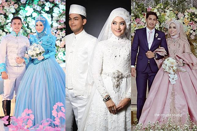 Gaun Pengantin Muslimah Modern Warna Putih Lovely 10 Inspirasi Gaun Pengantin Muslimah Ber A Modern Bak