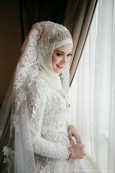 Gaun Pengantin Muslimah Modern Warna Silver Awesome 115 Best Baju Pengantin Images In 2019