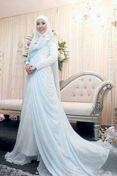 Gaun Pengantin Muslimah Modern Warna Silver Beautiful 115 Best Baju Pengantin Images In 2019