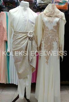 Gaun Pengantin Muslimah Modern Warna Silver Elegant 16 Best Gaun Pengantin Muslimah Malaysia Images