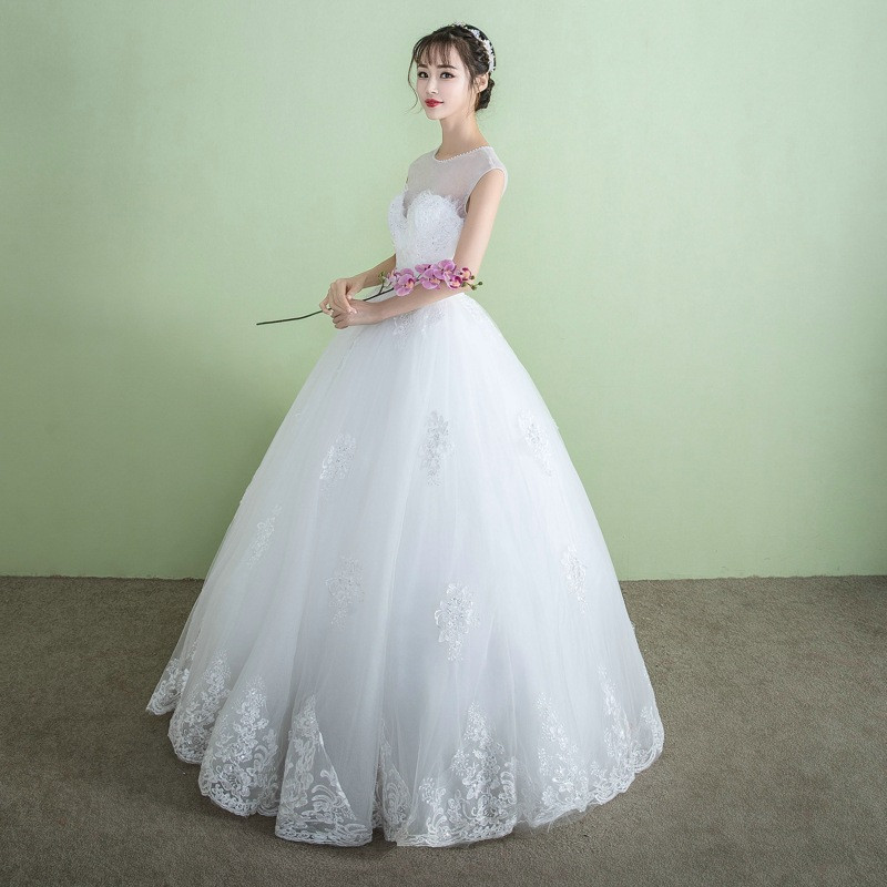 Gaun Pengantin Muslimah Modern Warna Silver Inspirational China Vietnam Wedding Dress China Vietnam Wedding Dress