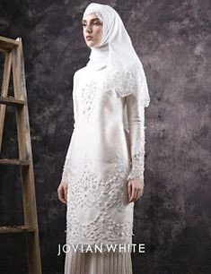 Gaun Pengantin Muslimah Putih Fresh 144 Best Baju Nikah Putih Images In 2019