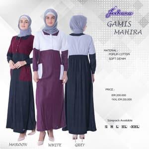 Gaun Pengantin Muslimah Putih Luxury Fiqfara Shop Setu Kab Bekasi