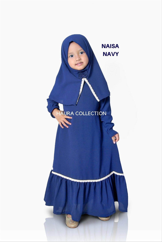 Gaun Pengantin Muslimah Putih Unique Bayi