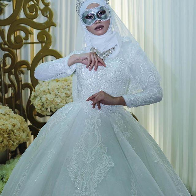 Gaun Pengantin Muslimah Sederhana Beautiful Bazaarkahwinpantaitimur Instagram Posts Photos and Videos