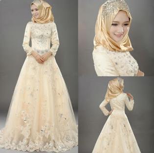 Gaun Pengantin Muslimah Sederhana Beautiful Jilbab Ceruti Search Results for Model Baju Pengantin
