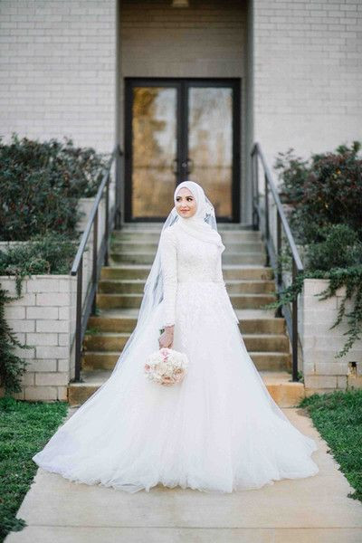 Gaun Pengantin Muslimah Sederhana Inspirational List Of Gaun Pengantin Muslim Wedding Dressses Long Sleeve