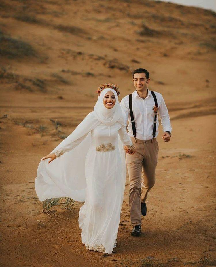 Gaun Pengantin Muslimah Sederhana Lovely Pin Oleh Zora Fati Di Wedding