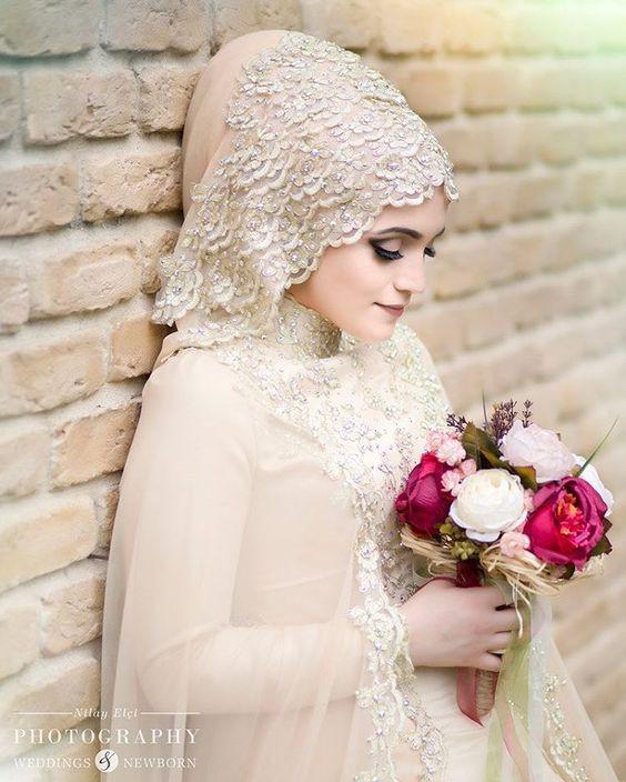 Gaun Pengantin Muslimah Sederhana Tapi Elegan New Model Kebaya Akad Nikah Hijab Model Kebaya Terbaru 2019