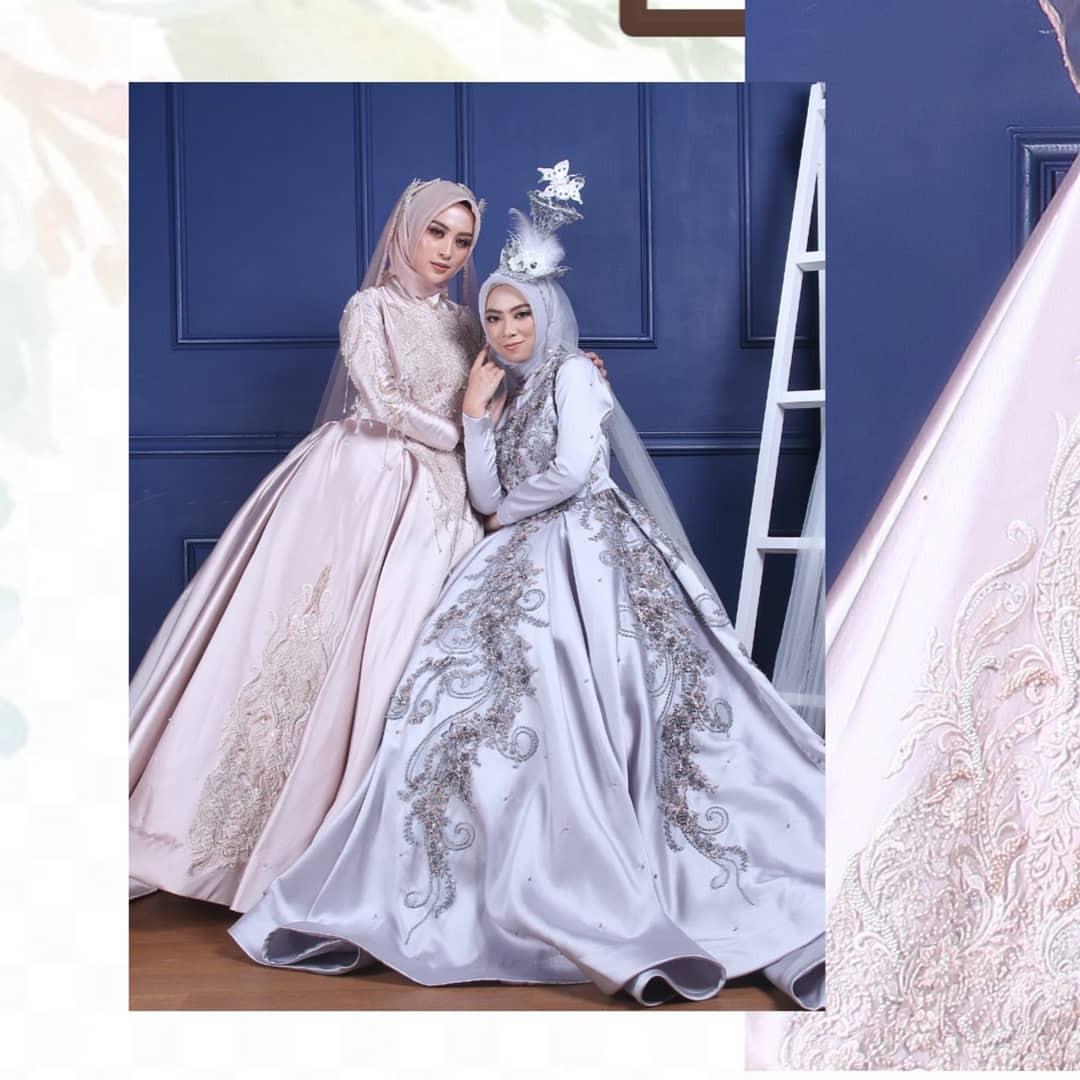 Gaun Pengantin Muslimah Simple Dan Elegan Beautiful Posts Tagged as Sewagaunakad