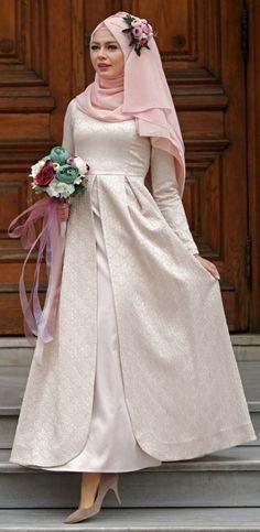 Gaun Pengantin Muslimah Simple Elegan Beautiful 195 Best Muslim Wedding Dresses with Hijab Images In 2019