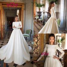 Gaun Pengantin Muslimah Simple Elegan Unique Popular Elegant Muslim Wedding Dress Buy Cheap Elegant