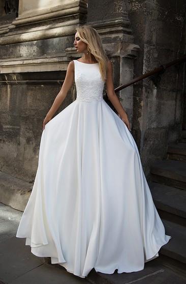 Gaun Pengantin Muslimah Simple Inspirational Cheap Bridal Dress Affordable Wedding Gown